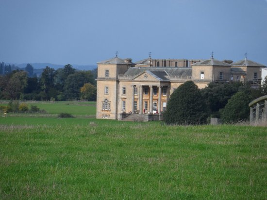 Croome Court in the autumn sunshine (south front)