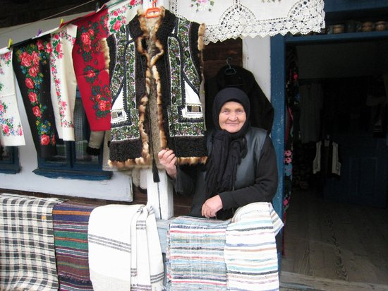 The Painted Monasteries of Bucovina: charming lady
