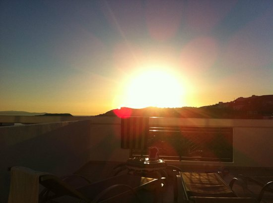 Panorama Village & Hotel : sunrise from out balcony