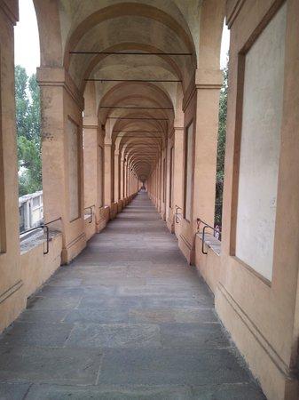Santuario di Madonna di San Luca: 3 km collonade