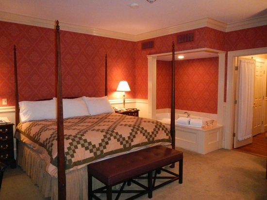 Green Mountain Inn: The luxury family suite