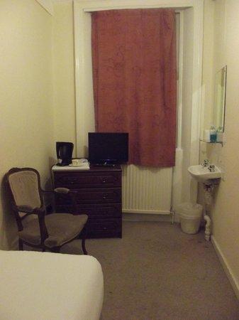 โรงแรมฟิทซ์รอย: Chambre simple