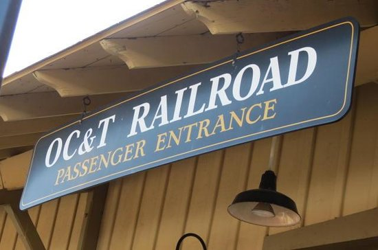 Oil Creek & Titusville Railroad: Titusville Station