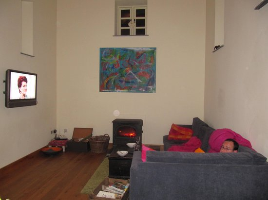 Llanwilcae Farm luxury Bed and Breakfast : Main living area