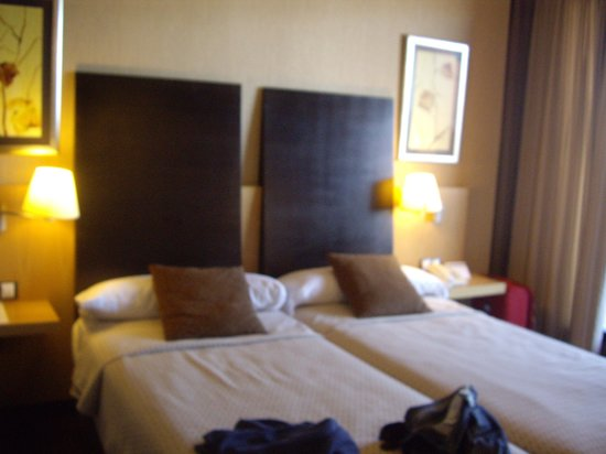 Hotel Rice Bulevar : Camas