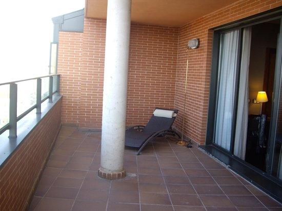 Hotel Rice Bulevar: Terraza