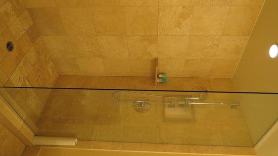 Hyatt Regency Monterey Hotel and Spa on Del Monte Golf Course: shower