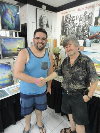 W/ Nick Maley (sept 2013) - Picture of Yoda Guy Movie Exhibit ...