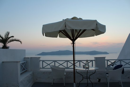Cliff Side Suites : View from balcony