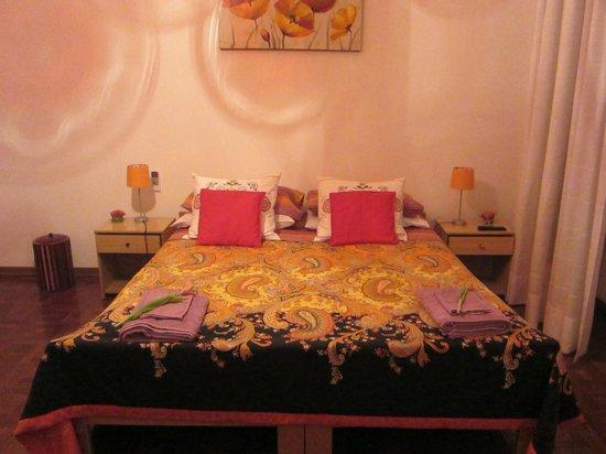 B&B Ametista: ベッドも十分な広さ