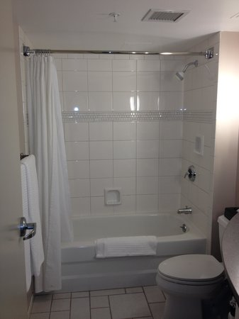 Delta Hotels by Marriott Vancouver Suites: Salle de bain