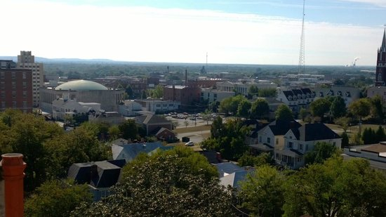 Hay House : View from cupola