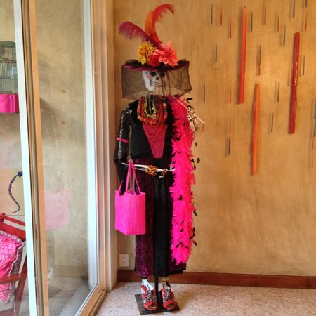 Casa de Las Bugambilias B&B: A nice decorative touch for the Day of the Dead