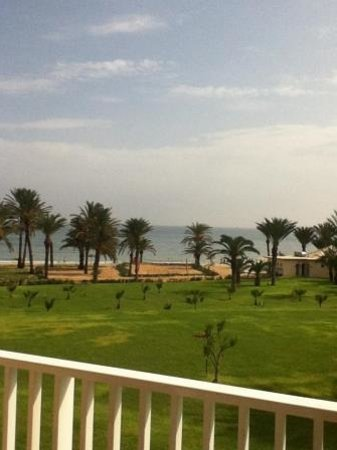 Scheherazade Hotel Sousse: View from our balcony