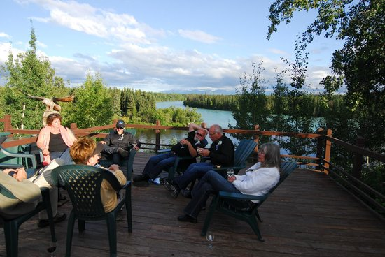 Great Alaska Adventures: Evening on the deck