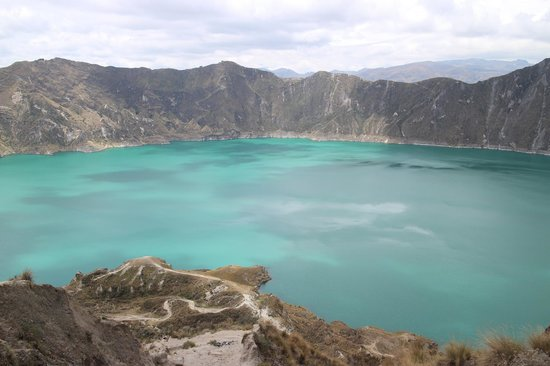 Laguna Quilotoa: From the top