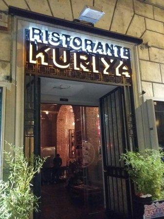 Kuriya: The wars Chinese restaurant in Rome Italy