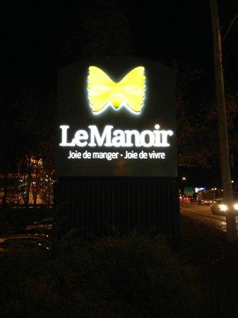 Restaurant Le Manoir : Le Manoir