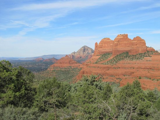 Sedona Real Inn and Suites: View from jeep tour