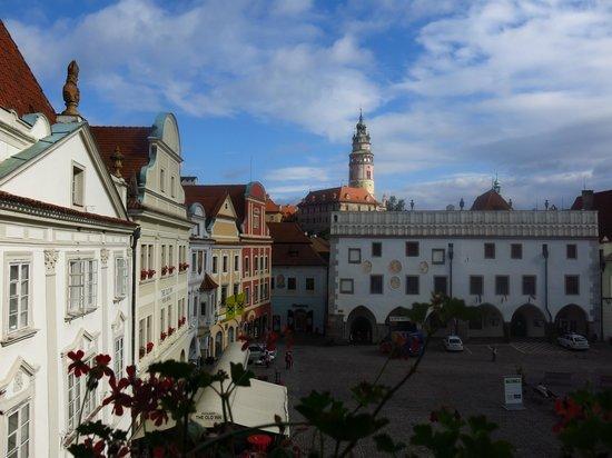 Hotel Zlaty Andel : Blick vom Zimmer 29