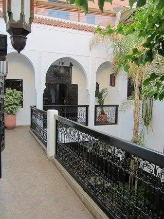 Dar Amanza: L'accès aux chambres