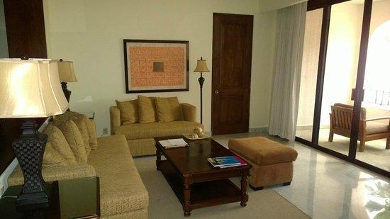 Casa del Mar Golf Resort & Spa: Living area