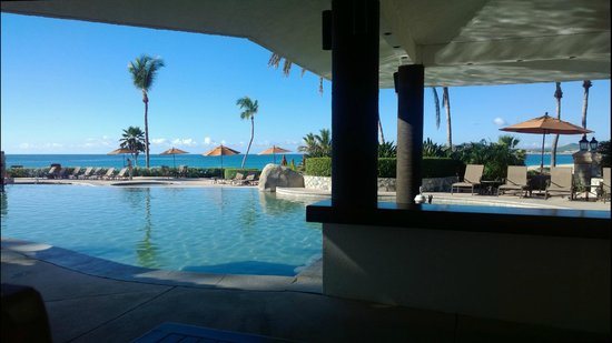Casa del Mar Golf Resort & Spa: View from the poolside cafe