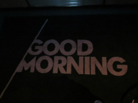 W New York - Times Square : Tapis Good Morning
