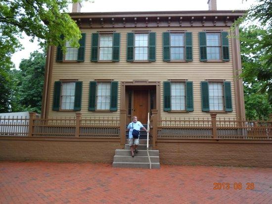 Springfield Museum: casa de Abraão Lincoln