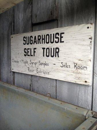 Sugarbush Farm: Sugarhouse self tour