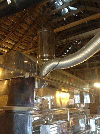 Sugarbush Farm: Maple syrup making building