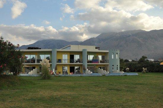 Mythos Palace: Со стороны моря
