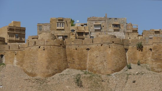 Mystic Jaisalmer Hotel: View from the Rooftop