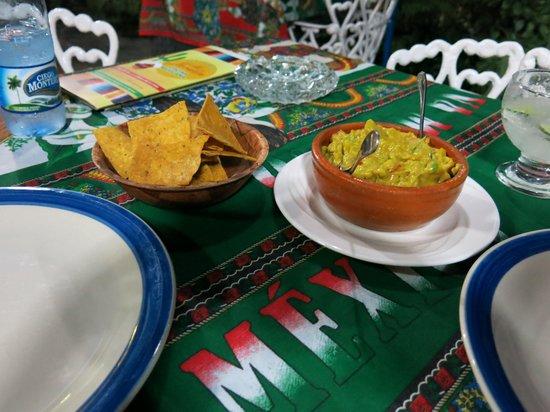 Mi Jardin : Incredible guacamole