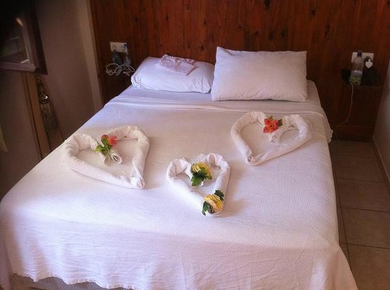 Dalyan Terrace Hotel: BED DECOR 6