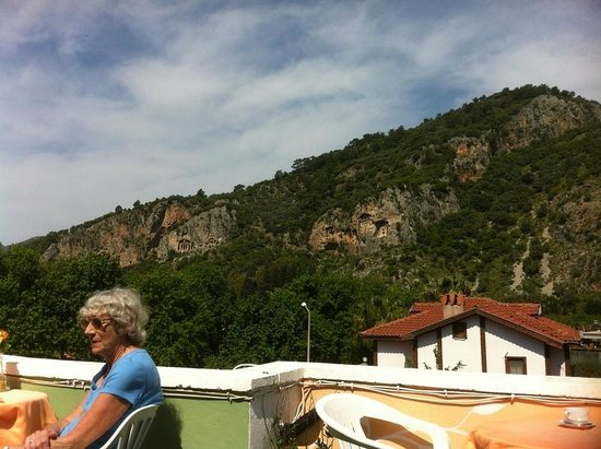 Dalyan Terrace Hotel: VIEW FROM ROOFTOP TERRACE