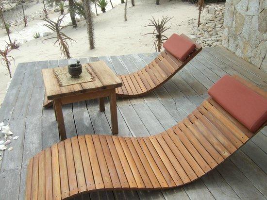 Anakao Ocean Lodge : Fuori dalla camera
