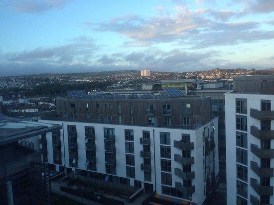 Jurys Inn Brighton : view from room