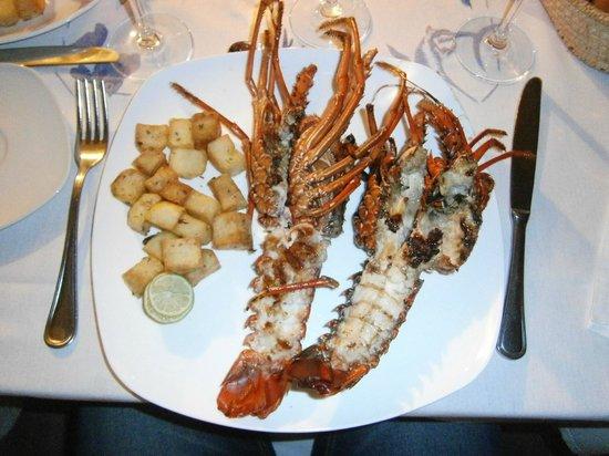 Anakao Ocean Lodge : La cena...