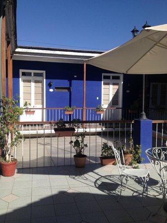 La Casona De Jerusalen Traveler's Hostel : Área interna