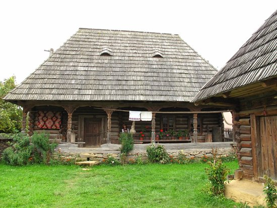 Wooden Churches of Maramures: traditional wooden house