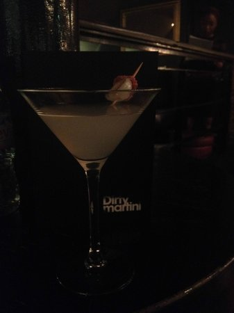 Dirty Martini Covent Garden: Lychee Martini
