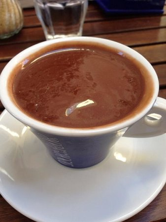 Oliandolo: Chocolate in a cup