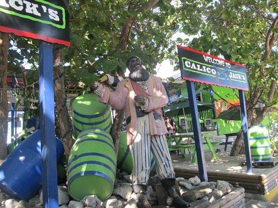 Seven Mile Beach: calico jack's