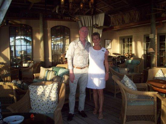 Little Palm Island Resort & Spa, A Noble House Resort: Brenda (Maitre D)