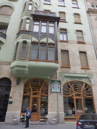 Budapest-sensations: CAFE BEDO