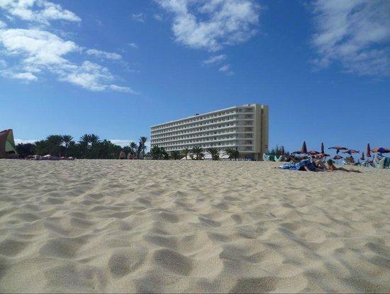 ClubHotel Riu Oliva Beach Resort: Playa al salir del hotel