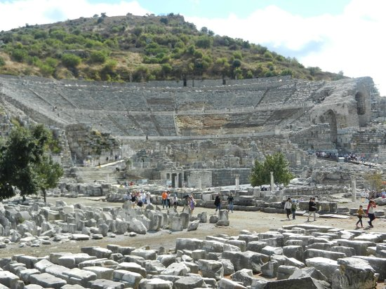 Ephesus Travel Guide - Private Ephesus Tours: Theatre