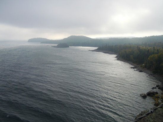 Split Rock Lighthouse: View of Lake Superior from the Lighthouse