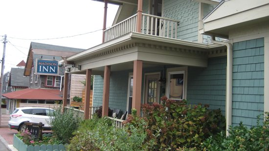 Madison Inn Front Porch